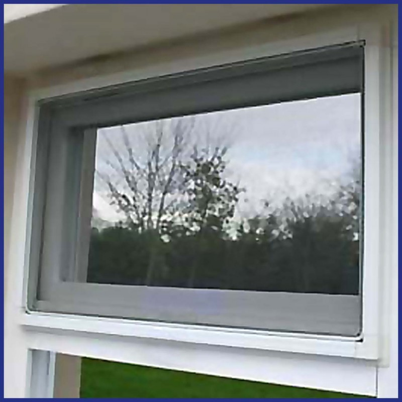 Commercial Fixed Windows : Domestic and light commercial use aluminium fly screen window