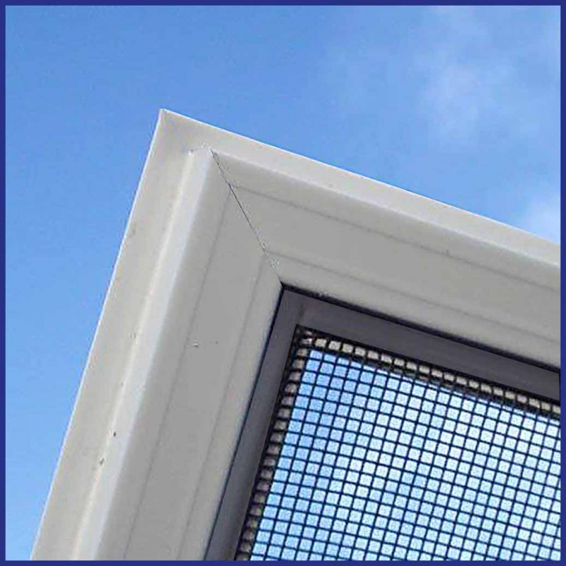Domestic and light commercial use aluminium fly screen window for Window mesh screen