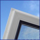 Aluminium Window Screen - Domestic/Light Commercial Use - Corner