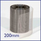 Stainless Steel Soffit Mesh - 200mm x 30m Roll