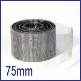 Stainless Steel Soffit Mesh - 75mm x 30m Roll