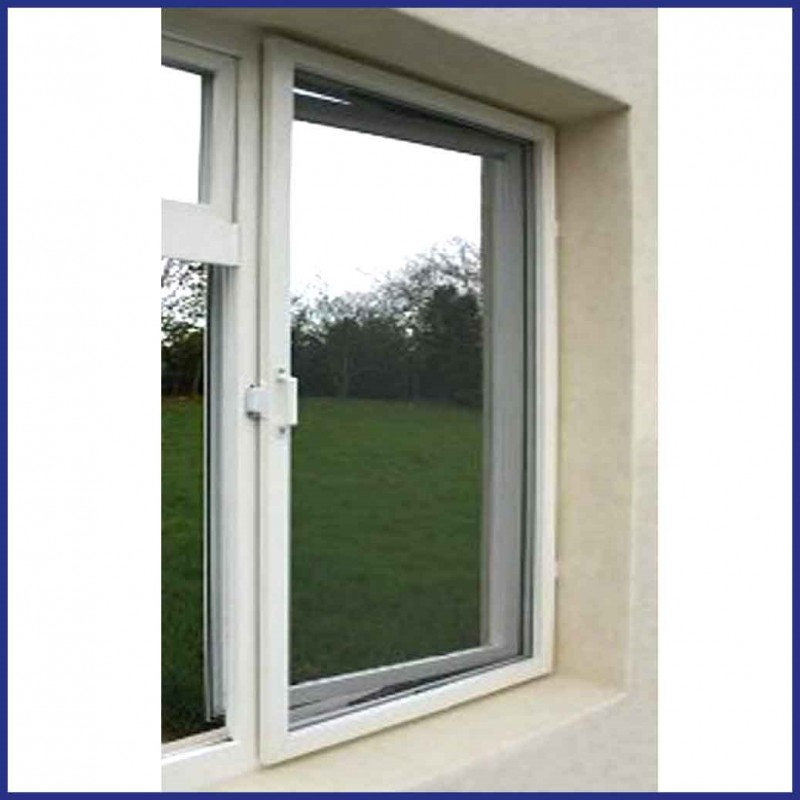 Commercial Aluminium Hinged Fly Screen Window Made To