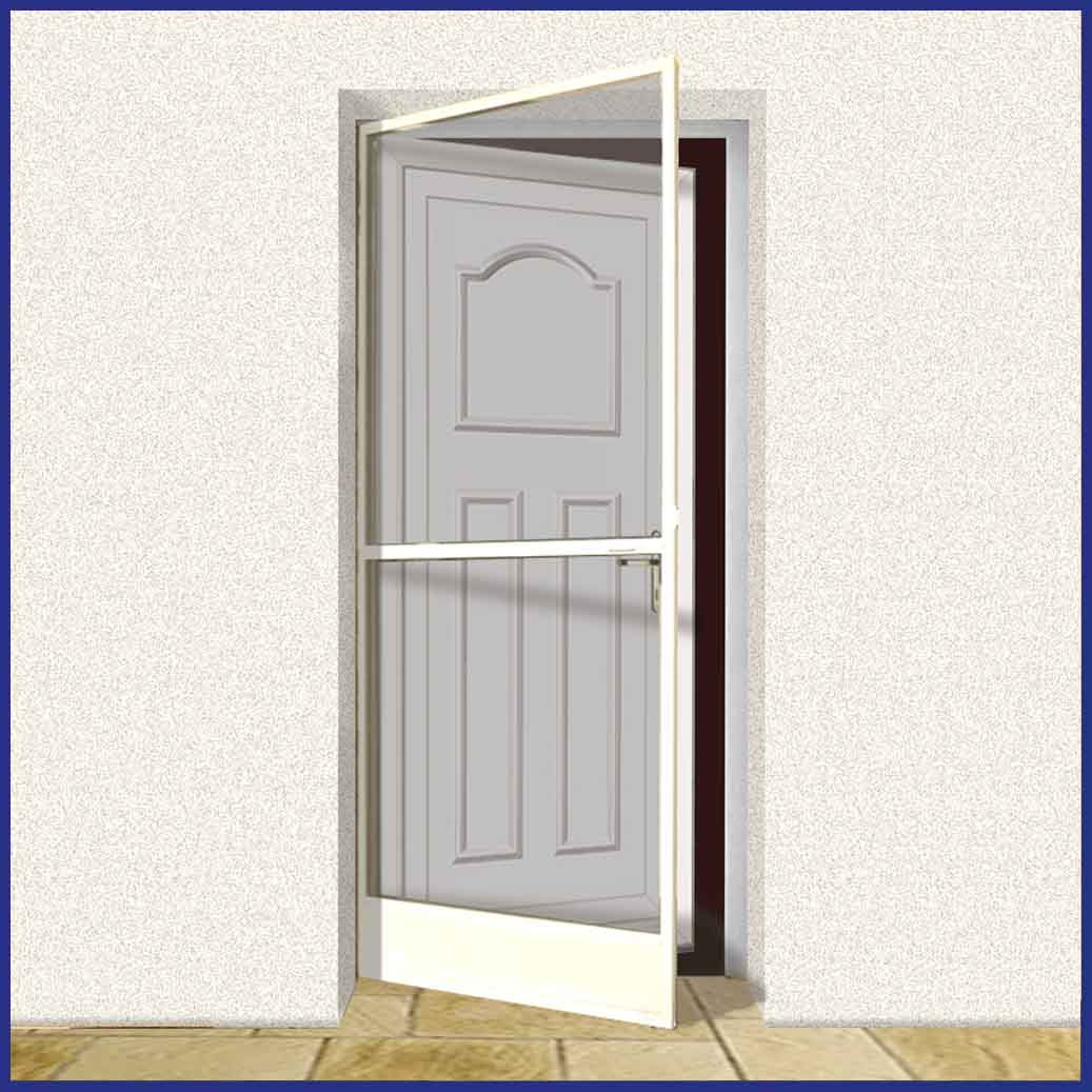 Aluminium Hinged Door Screen - Domestic DIY Kit