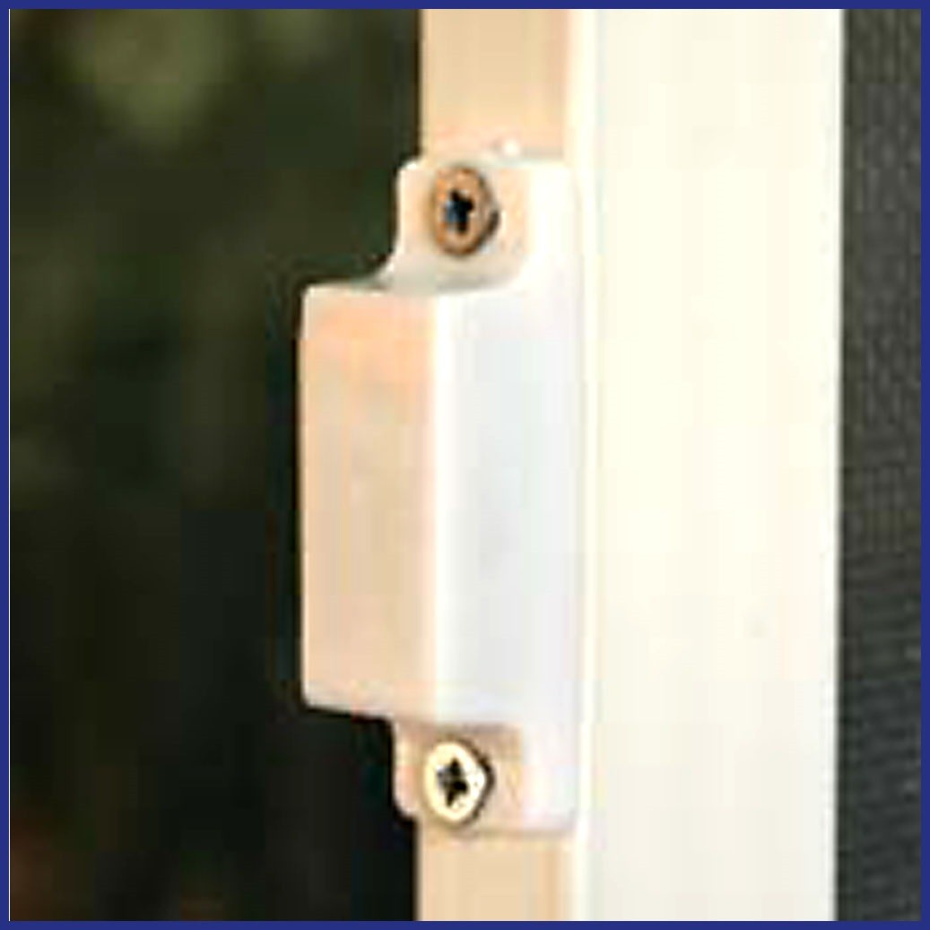 Aluminium Hinged Door Screen - Domestic - Magnet