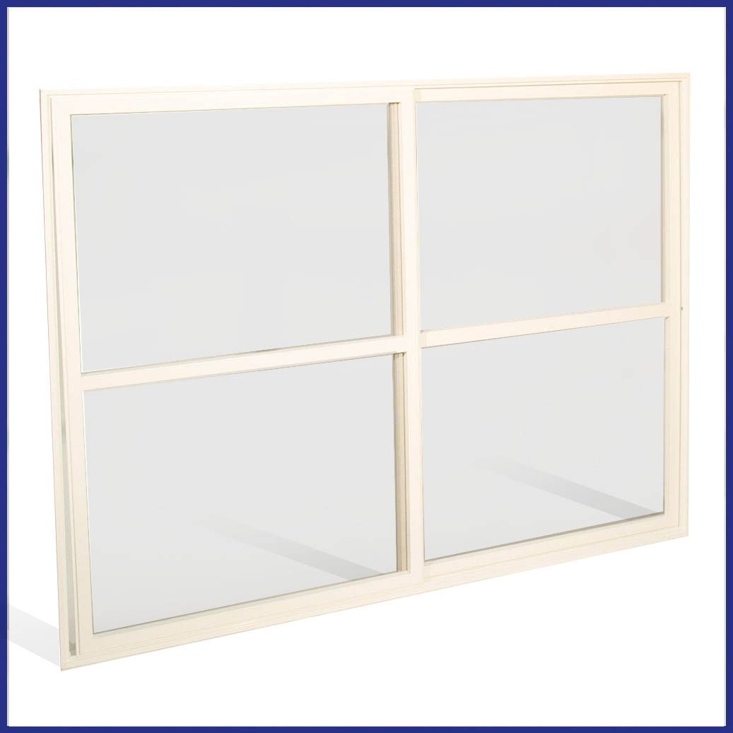 Aluminium Sliding Window - 2 Pane - Closed