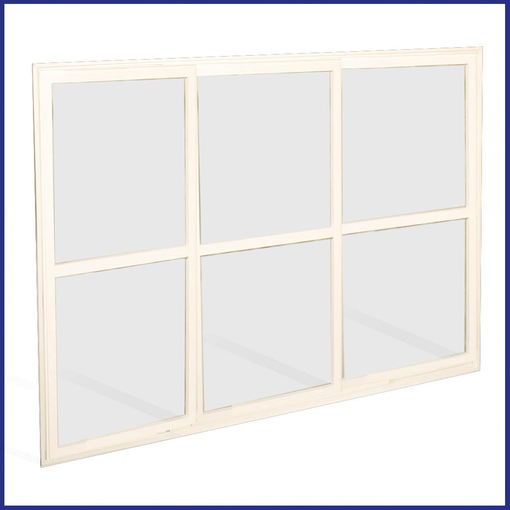 Aluminium Sliding Window - Closed
