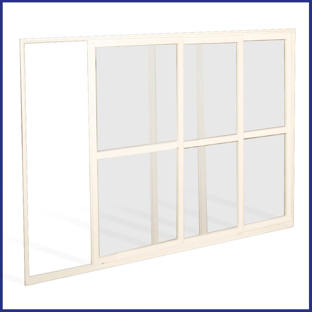 Aluminium Sliding Window - Open