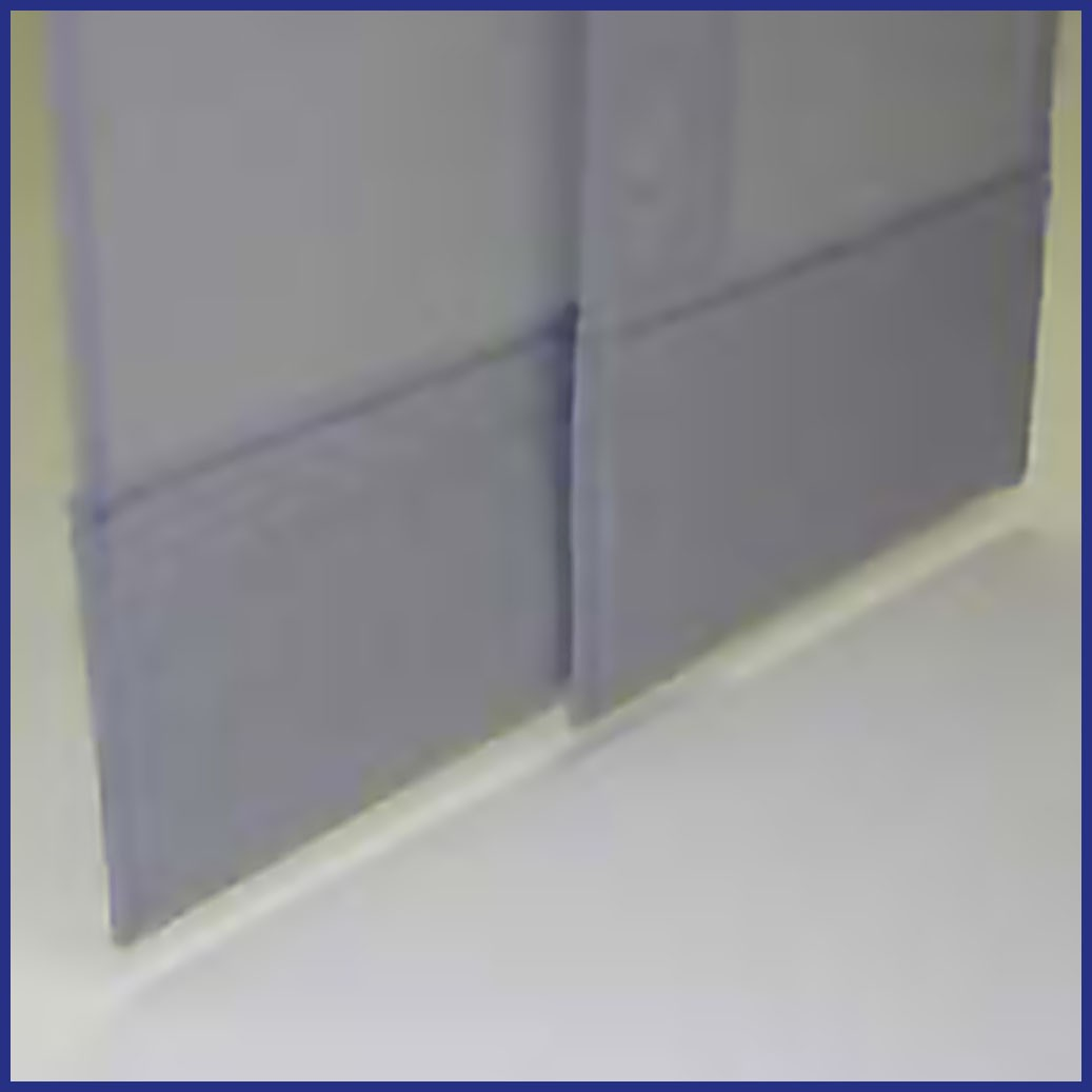 Insect Panel Curtain - Commercial - Bottom Curtain Detail