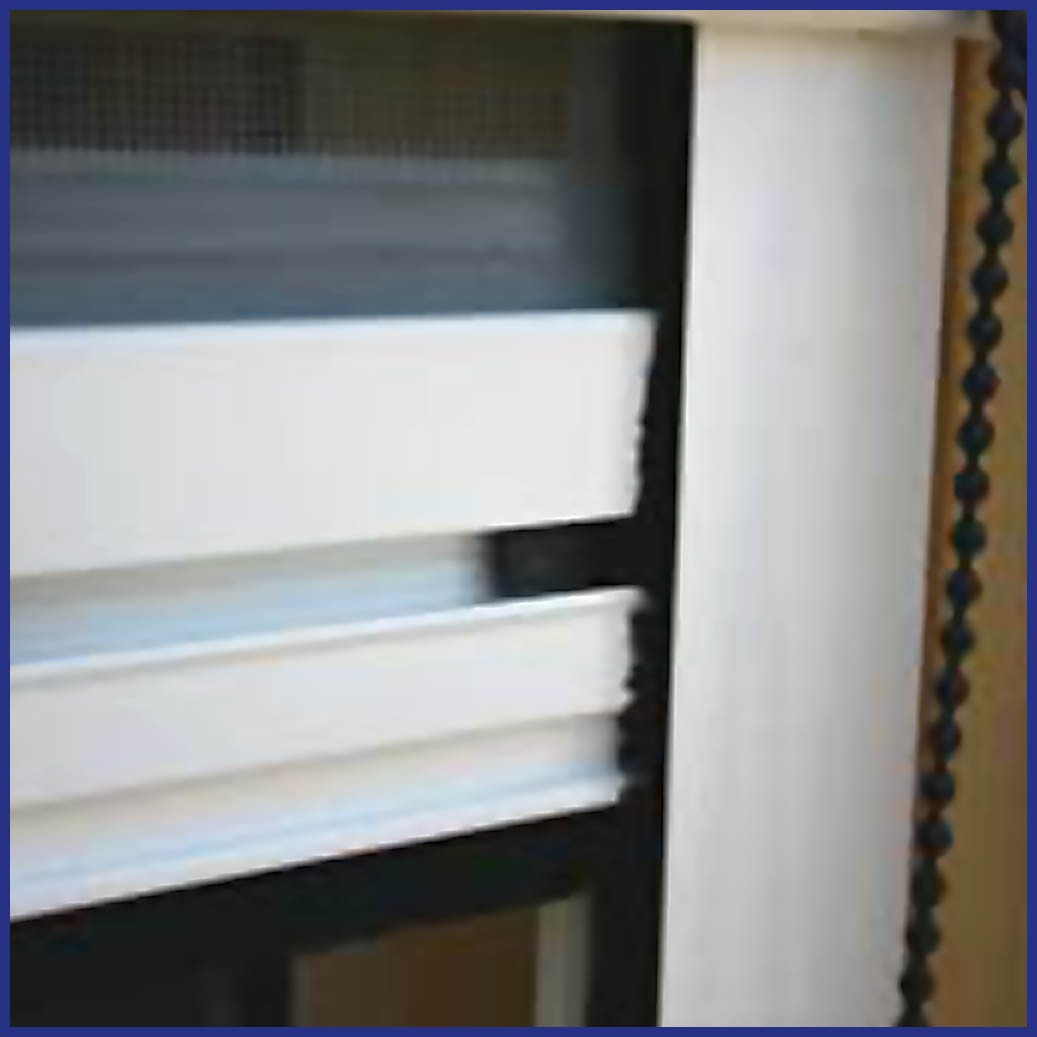 Roller Window/Door - Wind Resistant - Bar Track Detail