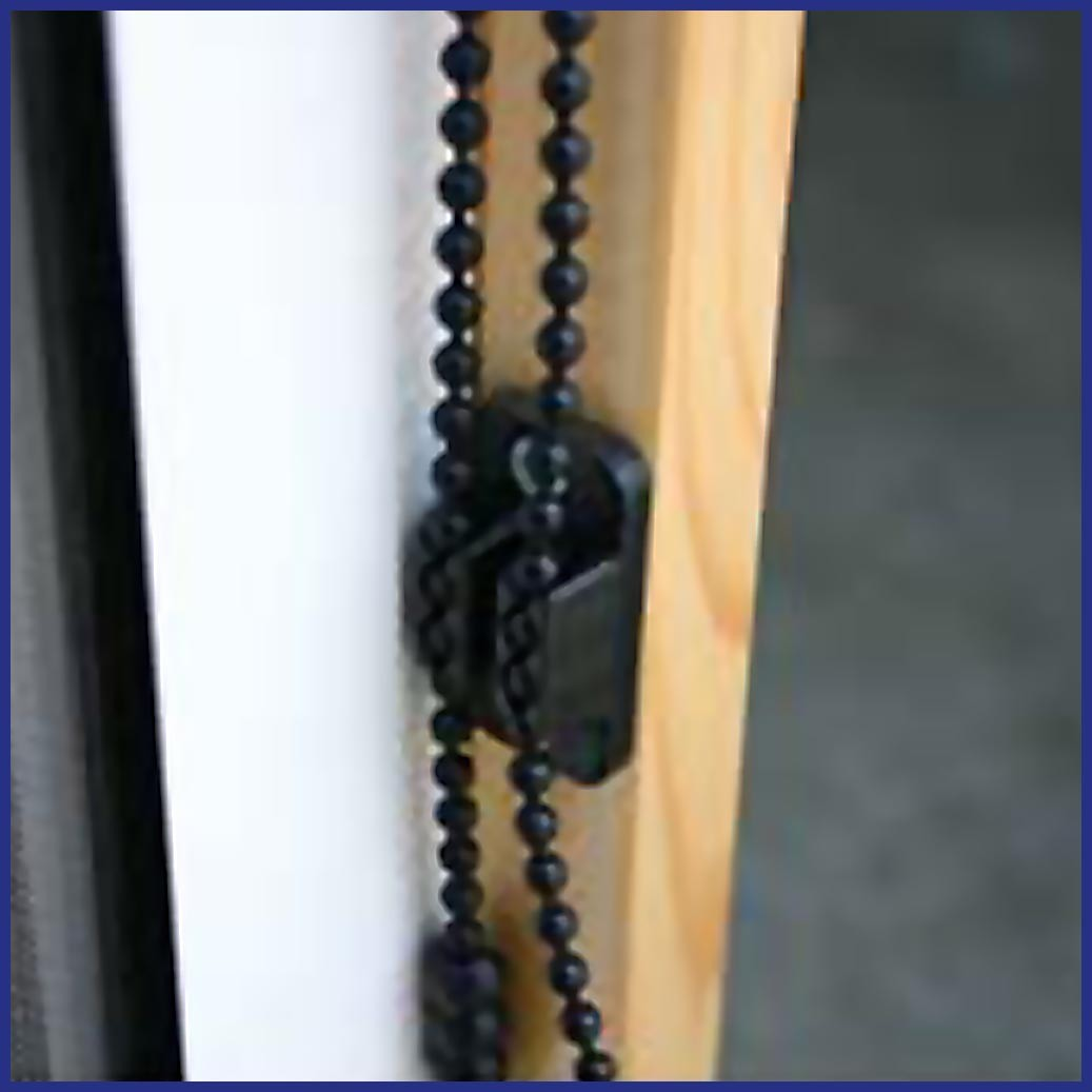 Roller Window/Door - Wind Resistant - Chain Cleat