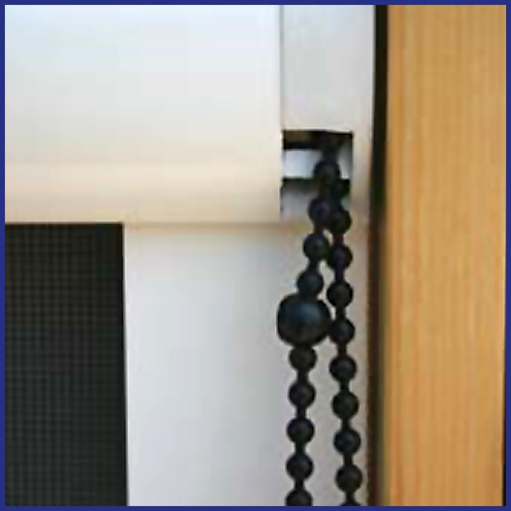 Roller Window/Door - Wind Resistant - Chain