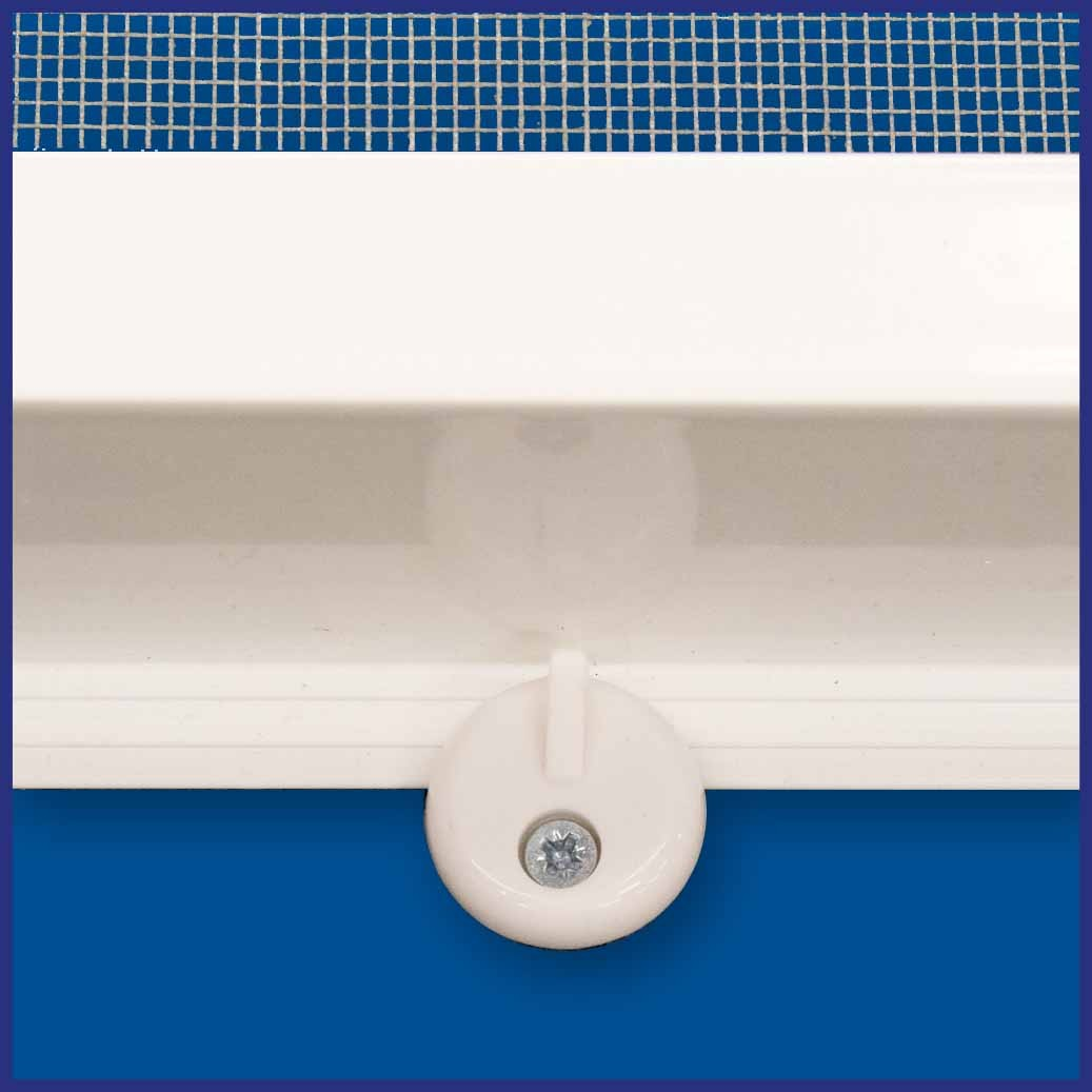 Aluminium Window Screen - Stand Off - Turn Button