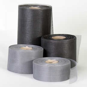 Narrow Insect Mesh Strips for Cladding